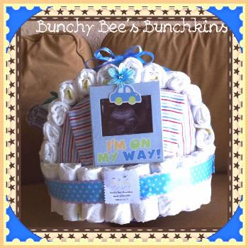 Baby Boy's Bassinet-back view#baby