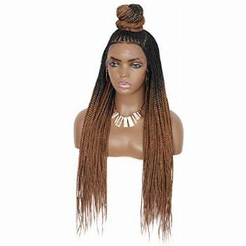 """Beauart 30 inches 13X7"""" Swiss Lace Front Box Braided Wigs"""