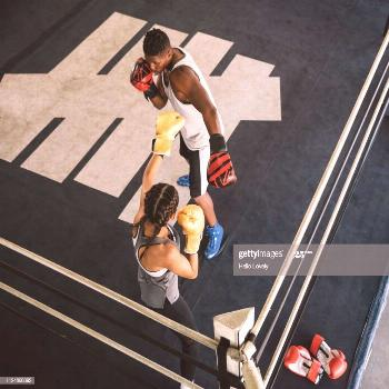 Boxers Train At Boxing Gym Photography ,