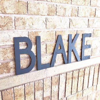 Boys Nursery Name Sign, Baby Name Large Wooden Letters For Boys Nursery Decor, C...#baby
