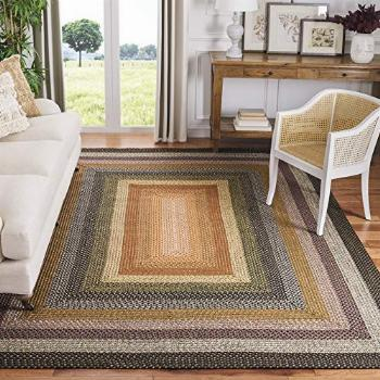 Safavieh Braided Collection BRD308A Handmade Country Cottage