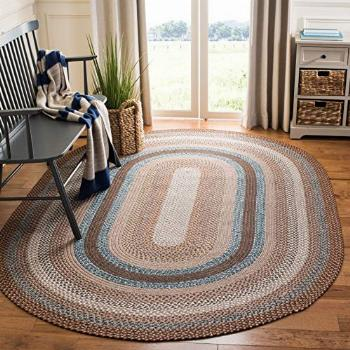Safavieh Braided Collection BRD313A Handmade Country Cottage