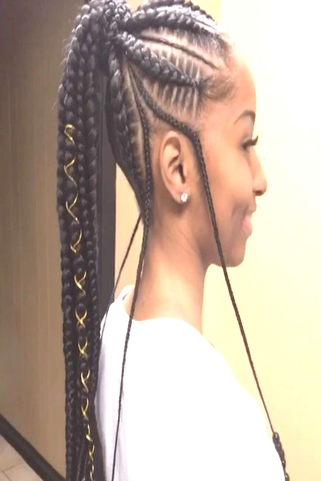 Feed In Ponytail