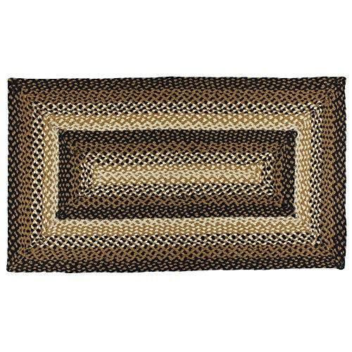 IHF Home Decor Stallion Rectangle Accent Braided Area Rug |