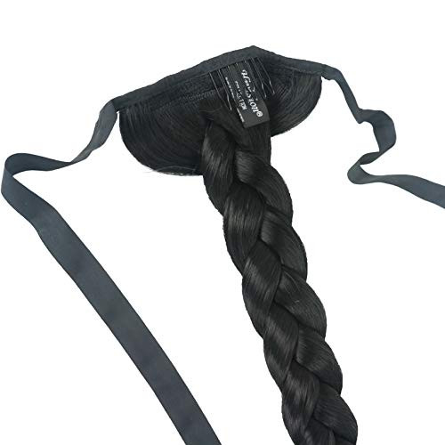 Lydell 24quot Long Fishtail Braid Wrap Around Ponytail