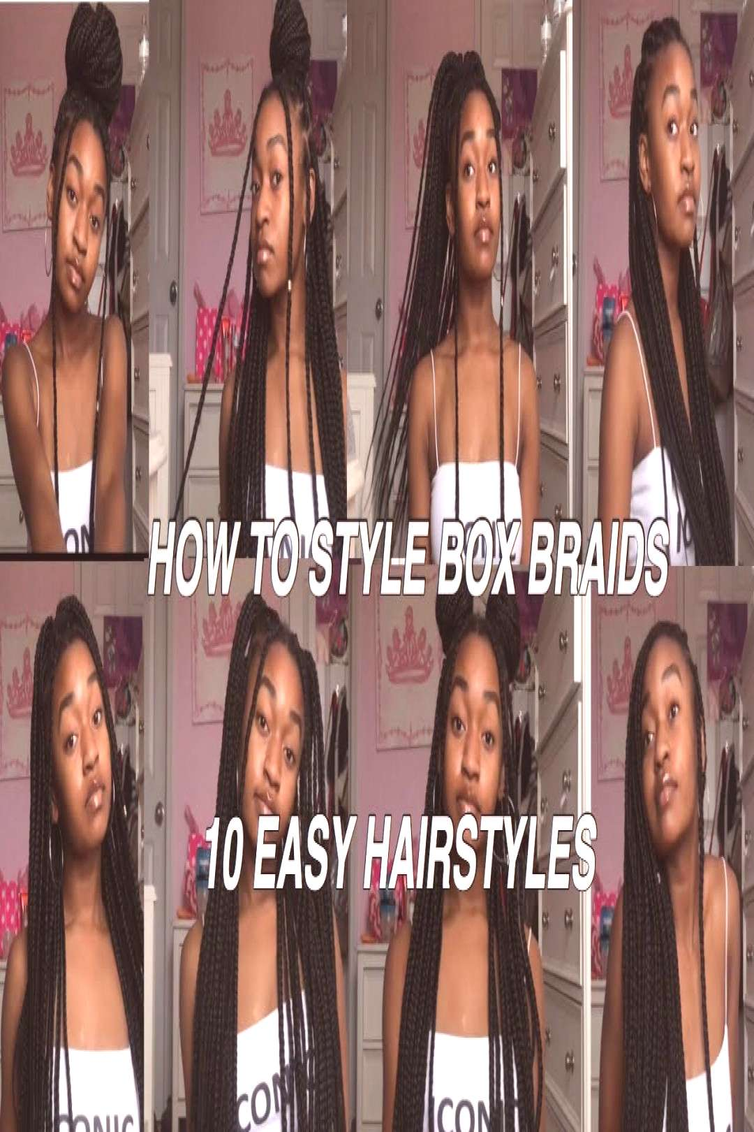 Makeup tools  how to style box braids, box braids hairstyles for black women, box braids with colo
