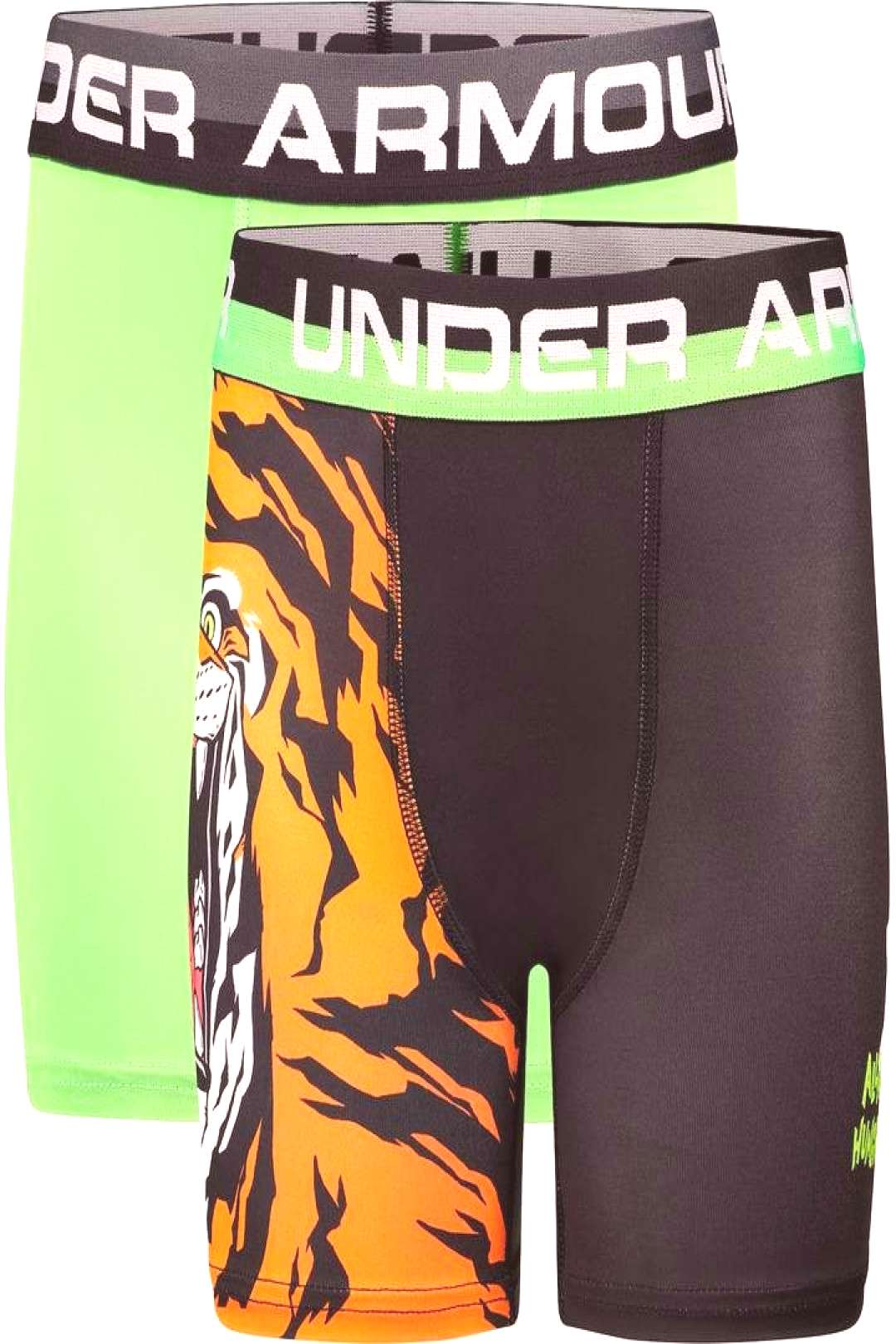 Under Armour Boys 8-20 2-Pack Tiger Boxers ,